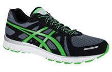 Asics Men's Gel Attract charcoal/neon green/black